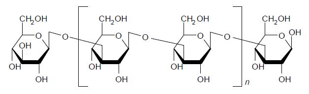パラミロンの構造式